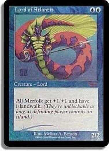 FOIL PROMO DCI Lord von Atlantis - Lord of Atlantis MTG MAGIC Eng Ita