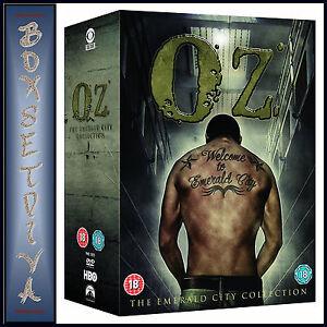 OZ - THE COMPLETE SERIES - SEASONS 1 2 3 4 5 & 6 *BRAND NEW DVD BOXSET*