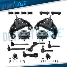 4wd 16pc Front Upper Control Arm Wheel Hub Bearings Kit For Chevy Blazer Sonoma