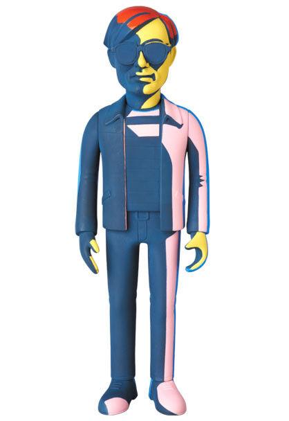 VCD Andy Warhol Silk Screen Ver. Medicom Toy Figure Medicomtoy Silkscreen