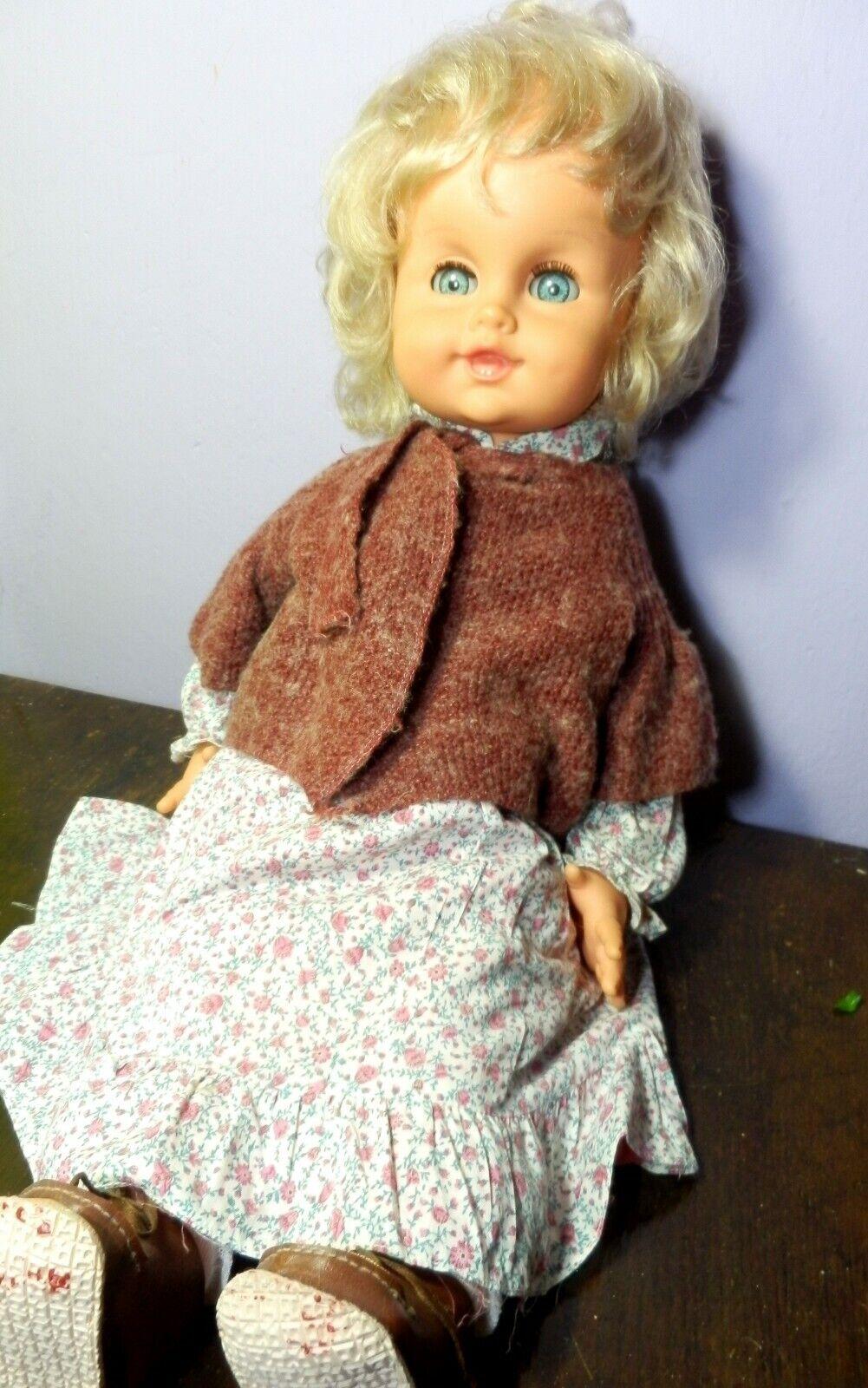 Patatina Sebino tutta Originale doll poupee puppen Muneca Vintage antico