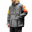Hip-Hop-Hooded-Patchwork-Mens-Jacket-Coat-Bomber-Street-Wear-Loose-Fit-New-Ths01 thumbnail 1