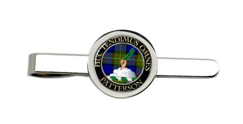 Patterson Scottish Clan Tie Clip