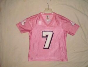 WOMEN S NFL ATLANTA FALCONS   7 MICHAEL VICK TEAM APPAREL PINK ... 97746a3ef
