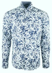 MENS-FLORAL-PRINT-PARTY-DRESS-WEDDING-FORMAL-CASUAL-SHIRT-18-99-386