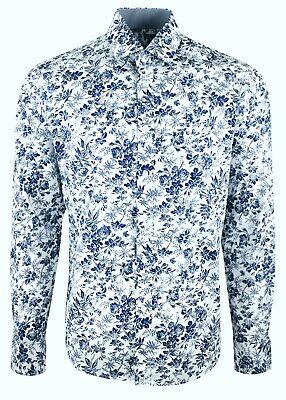 FLORAL MULTI COLOUR MENS PARTY CASUAL DRESS MOD 60s SHIRT NOW £19.99 477