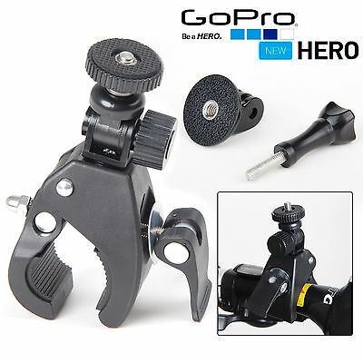 For Gopro Hero 4/3/2 Accessory Bicycle Motorcycle Handlebar Tripod Mount Holder