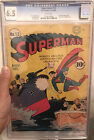 Superman #13 (DC, 1941) CGC FN+ 6.5 Off-white to white pages Golden Age Comic
