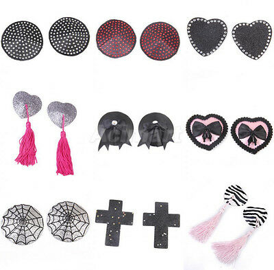 Sexy Women Pasties Nipple Covers Breast Sticker Lingerie Reuseable Self Adhesive