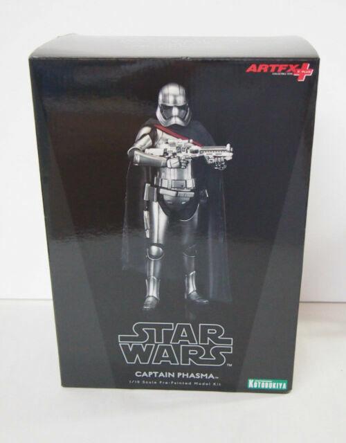 Star Wars The Force Awakens Captain Phasma 1//10 Scale Statue By ArtFx Kotobukiya