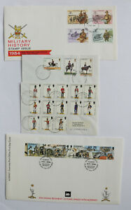 Military-War-Militaria-FDC-First-Day-Cover-6-Lot