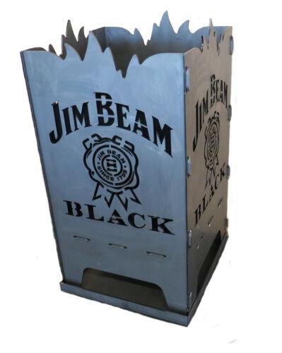"""Design Feuerkorb Feuerschale aus Stahl /"""" Jim Beam/"""""""