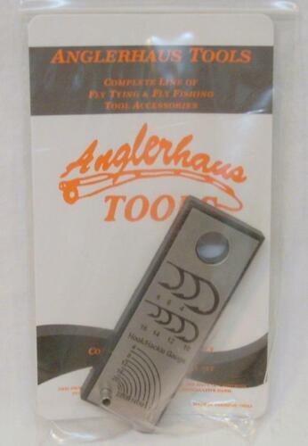 Anglerhaus Tools Fly Fishing Accessories Hook//Hackle Gauge
