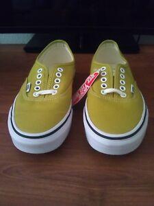 Vans Authentic Vans Mustard Yellow Vans