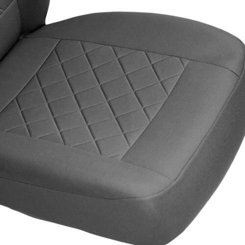 Graue Sitzbezüge für KIA VENGA Autositzbezug Komplett