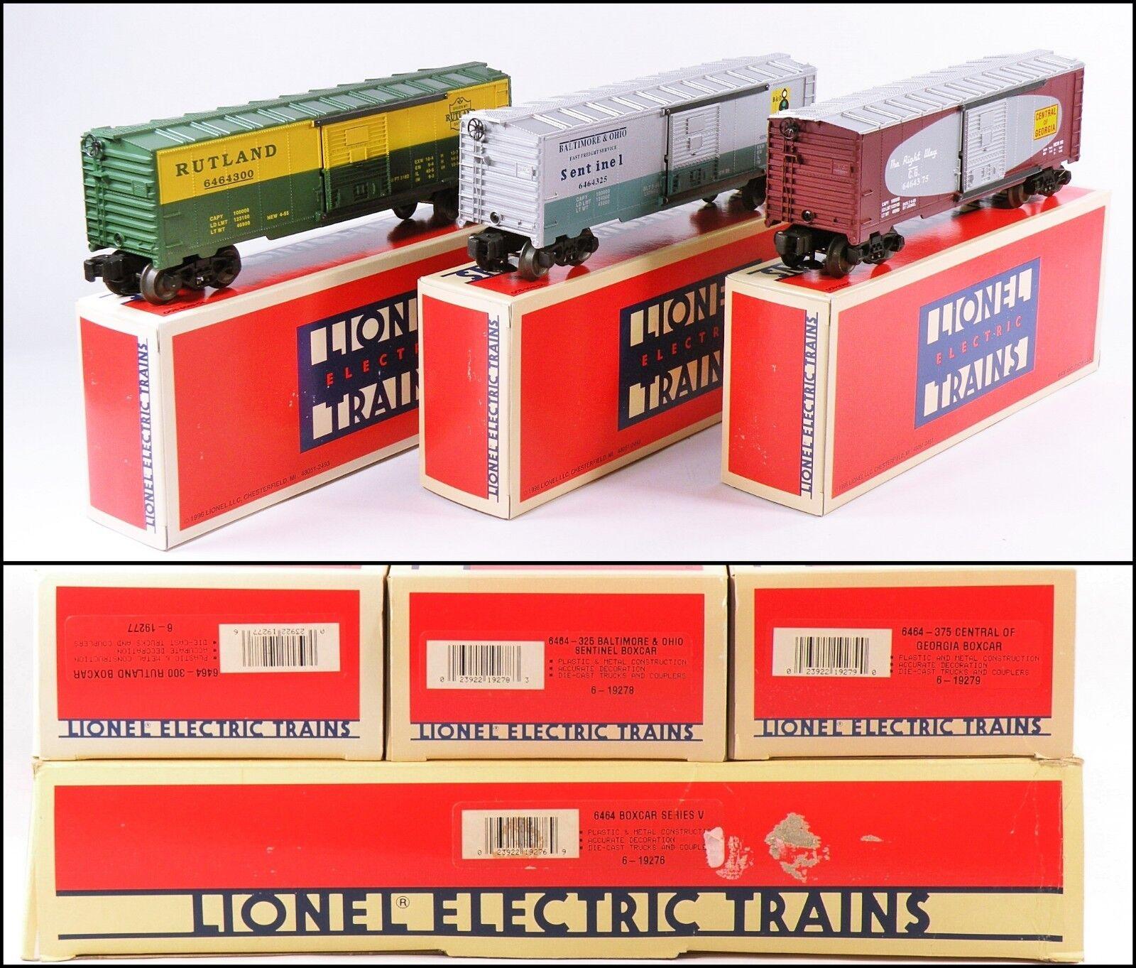 Lionel 6-19276 6464 Boxcar Series Rutland B&O CoG 1996 C10