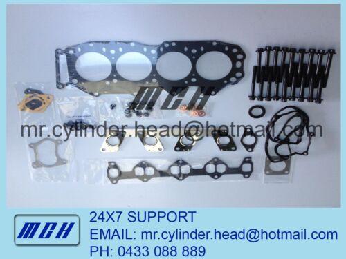 Head Bolt Set Ford Courier Mazda Bravo B2500 WLT WL-T WLAT VRS Head Gasket Kit