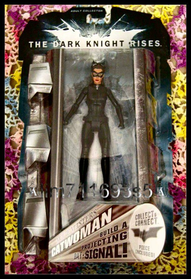 Batman Dark Knight Rises Movie Masters Figure Catwoman - NEW