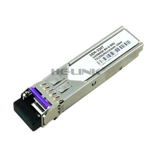 DEM-330T D-Link Compatible 1000BASE-BX-D 1550nmTX//1310nmRX 10km Transceiver