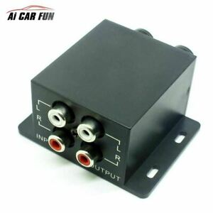 Subwoofer-Car-Amplifier-Audio-Regulator-Bass-Equalizer-Crossover-Controller-RCA