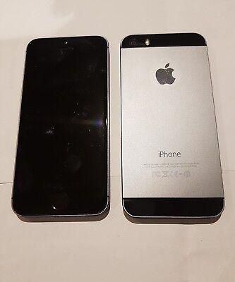 Welp Apple iPhone 5S 16gb Unlocked grey black silver Good condition GW-35