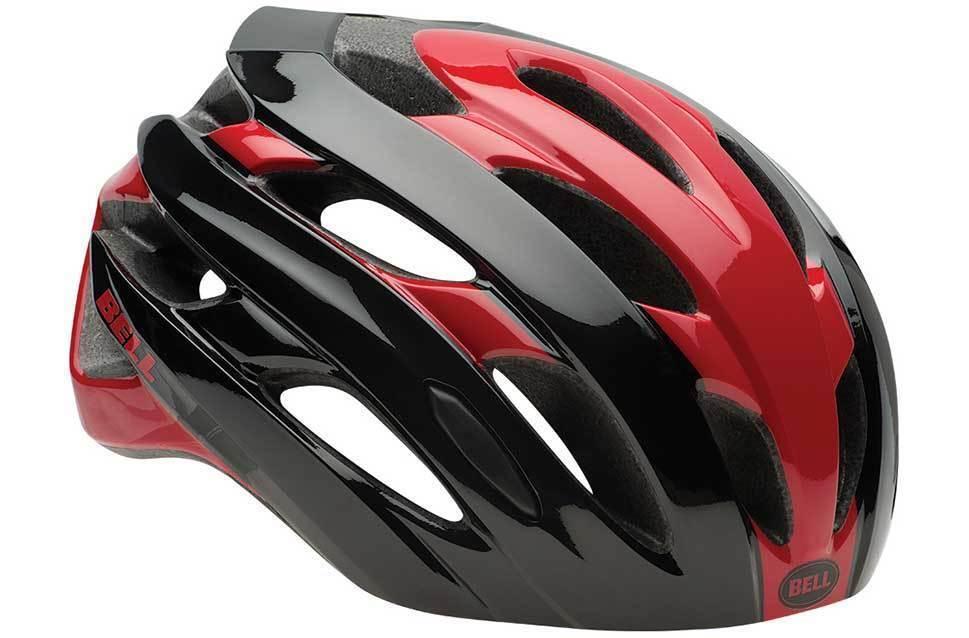 Bell Event Helm Rot Schwarz Größe Mittel