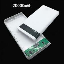 Dual Usb Battery Box Case Portable DIY LCD power bank 8x18650 Kit 2A 18650