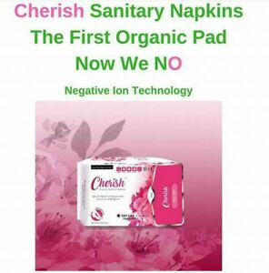 Cherish Premium Sanitary Napkins With Negative Ions Nspire Ebay