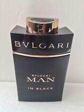 Bvlgari Man In Black 3.4oz Eau de Parfum Spray Read Listing New Un-Box