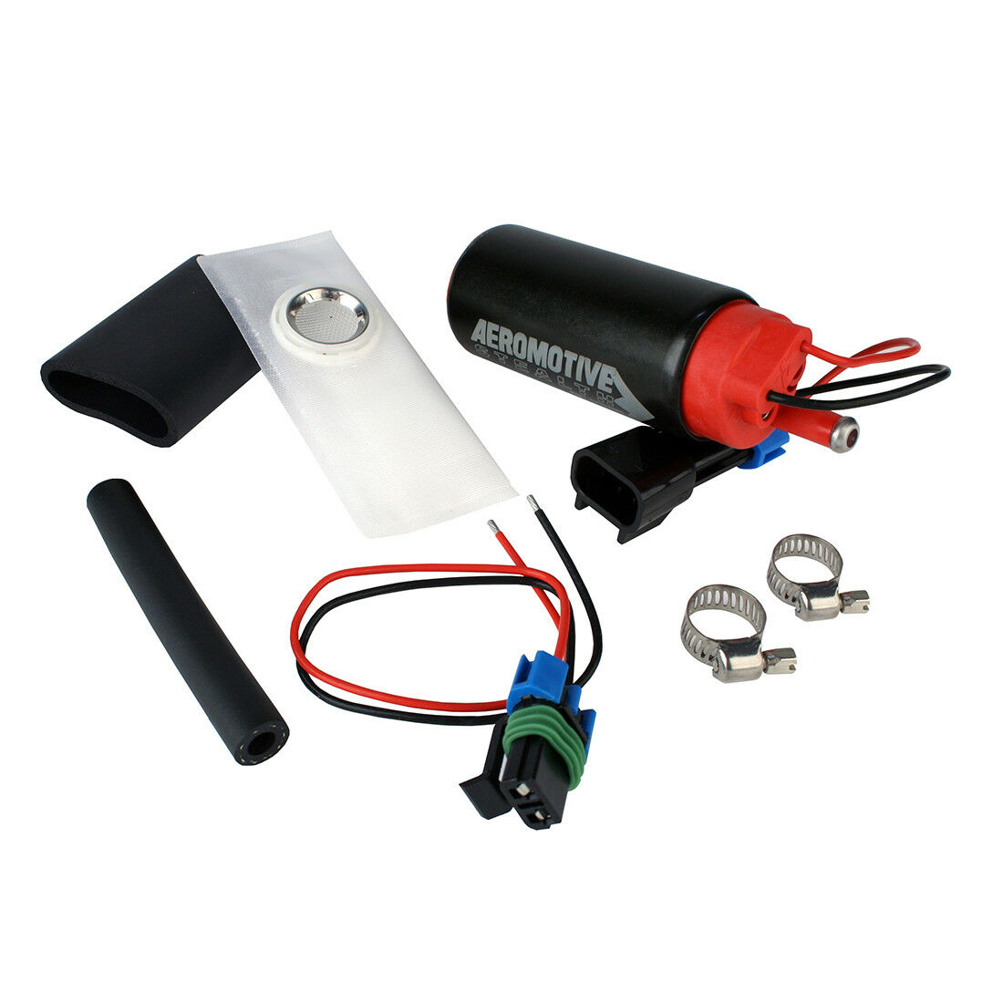 Center Inlet In-Tank Pump Aeromotive 11540 E85 340 Stealth Electric Fuel Pump