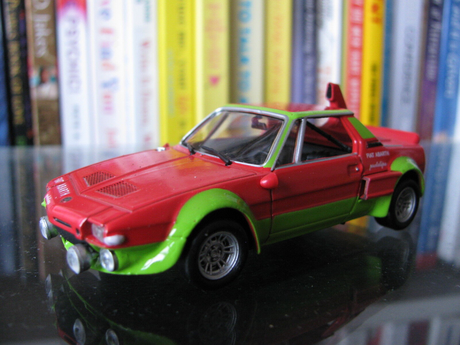 1 43 X 1 9 Fiat Abarth 1800 prossootipo (1973) Diecast