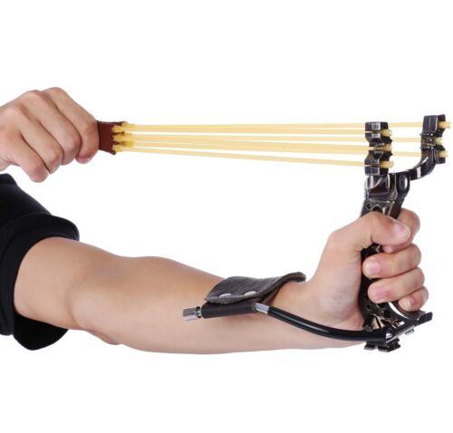 Professional slingshot Hunting Catapult Hunter Folding Wrist Sling Shot