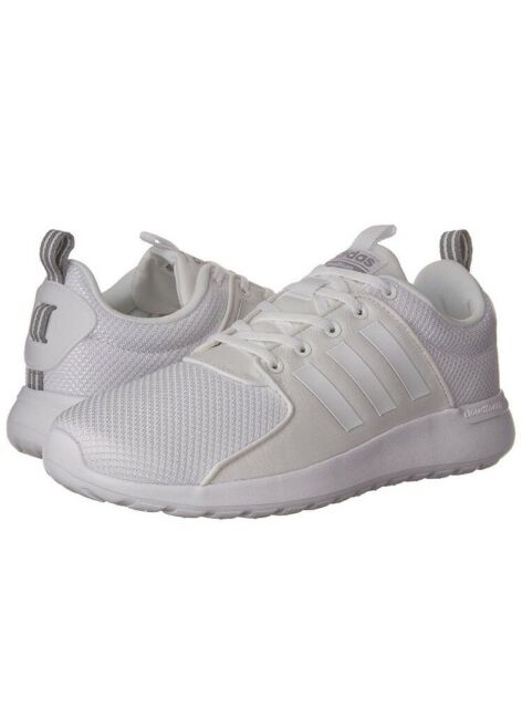 on sale d807b e9ede NEW Adidas NEO Cloudfoam Lite Racer AW4262 Men s Running Shoes White Onix 12