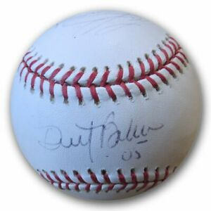 Dusty Baker Mike Prior Mike Remlinger Signed Autographed MLB Baseball  GV892733
