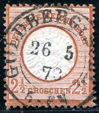 DR 1872 21a gestempelt ideal ZENTRISCH sehr schön (J8469