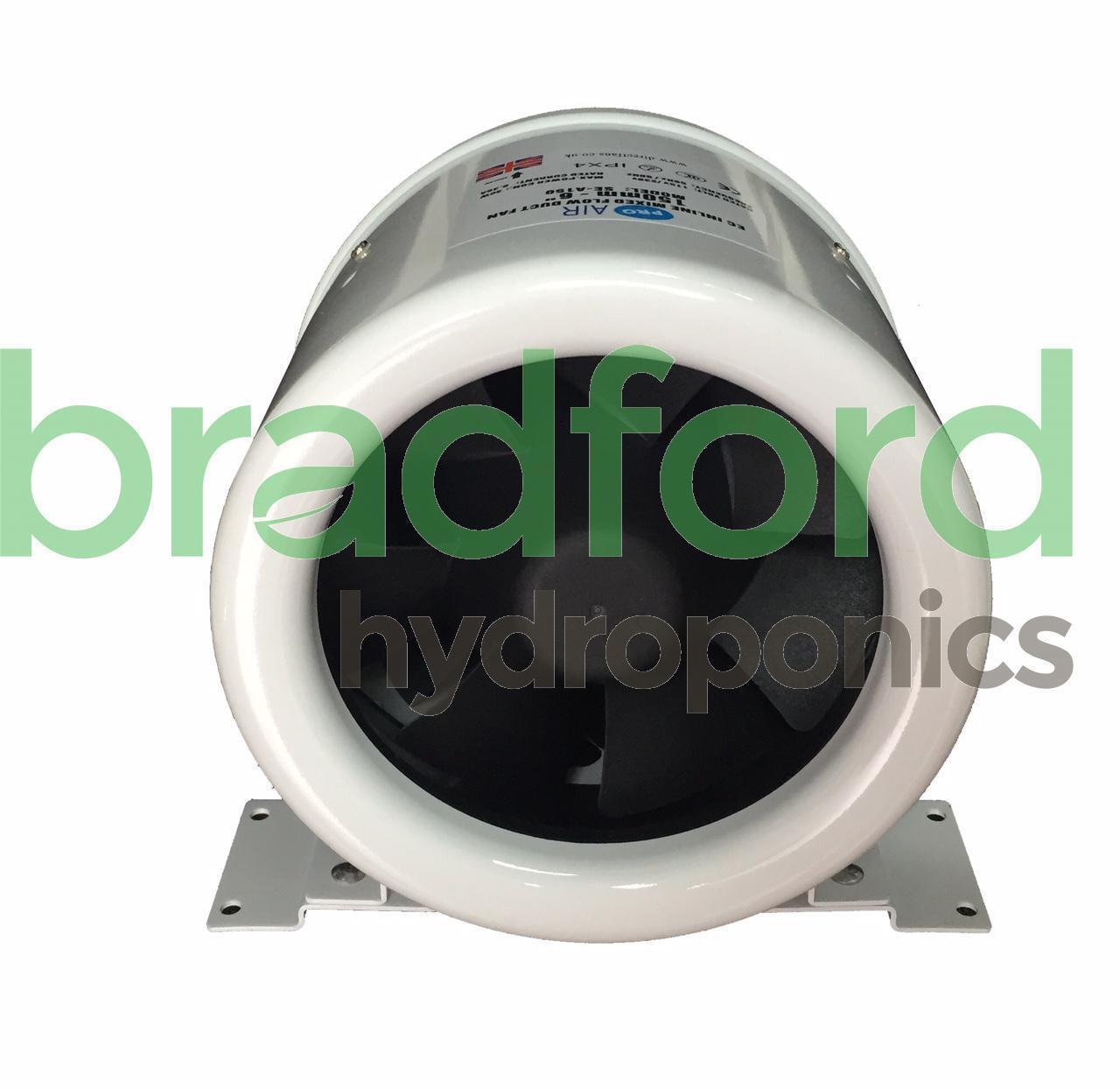 6  Pro Air CE Ventilador en línea acústica 150mm 510 m3 h con controlador Hyper Ventilador