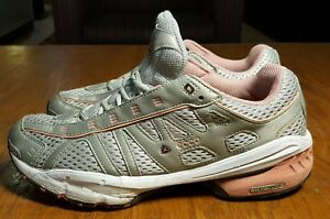autumn shoes purchase cheap cute cheap Details about ECCO Women US 10-10.5 Grey Receptor RXP-3040 Athletic Sneaker  Running Lace Up