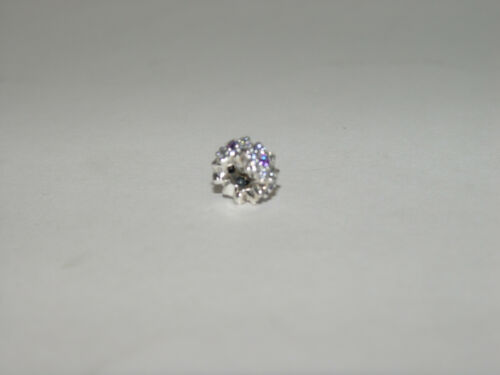 7a12f30b3 ... New Authentic Pandora Forget Me Not Purple & Clear CZ Spacer Charm  791834ACZ