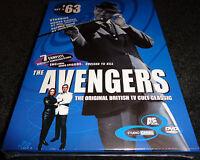 The Avengers '63 Set 2 Dvd 2 Discs Honor Blackman Brand Factory Sealed