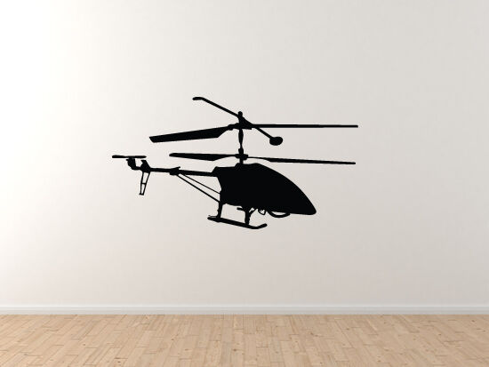Military Vehicles - Remote Control Helicopter - Vinyl Wall Decal