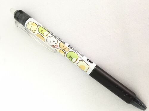 New SanX Sumikko Gurashi Pilot FRIXION Erasable Ballpoint Pen Black Ink 0.5mm