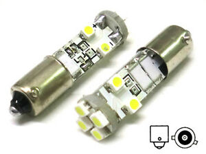 Lampara-Led-Can-bus-BAX9S-H6W-8-Smd-No-Error-Pies-Storti-12V-Luces-Ubicacion