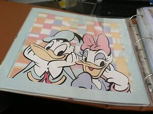 CUSTOM PRE-MADE HANDCRAFTED 12 X 12 DISNEY SCRAPBOOK ALBUM, 10 PAGES/20 SIDES