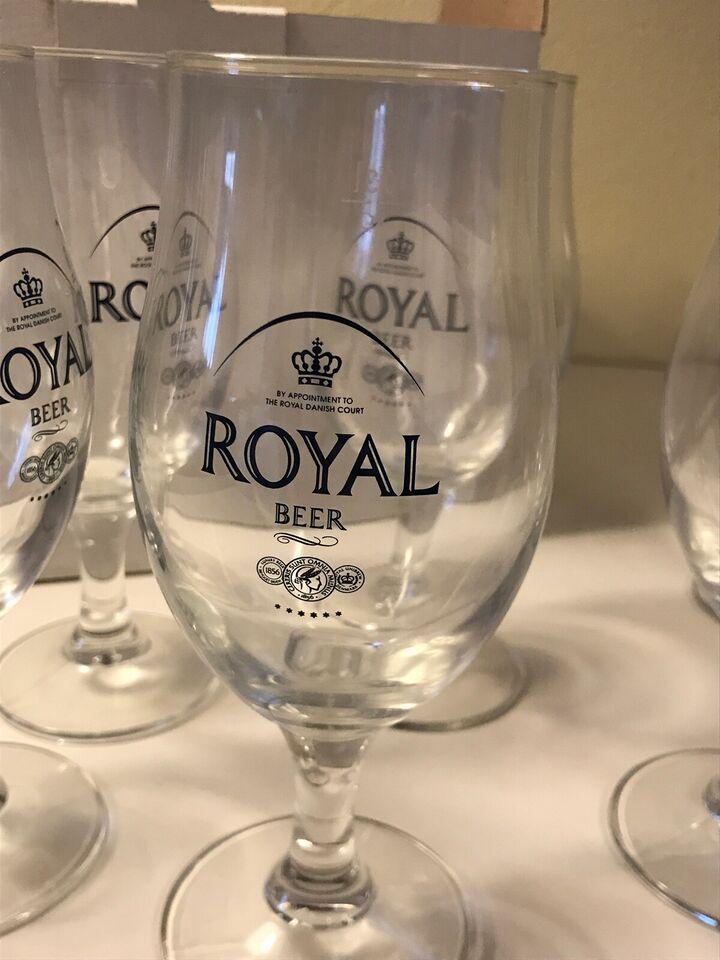 Glas, Ølglas, Royal