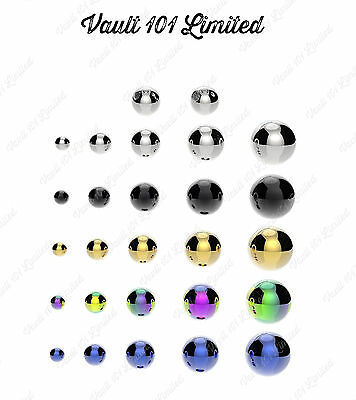 Spare Balls for Belly / Nipple / Tragus / Labret / Tongue / Ear Piercings