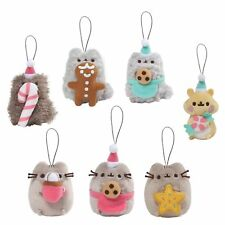gund 4061025 pusheen the cat surprise plush keyring series 8 christmas sweet