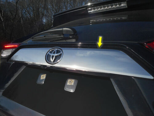 LB19180 1 Pc Stainless Steel License Bar Trim Fits 2019-2020 Toyota Rav4