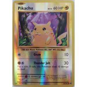 Pokemon-Pikachu-35-108-XY-reverse-Holo-Common-ingles-nm