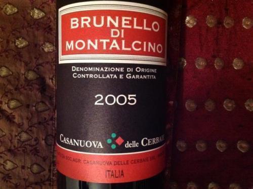 6 bottiglie BRUNELLO DI MONTALCINO DOCG 2010 CASANUOVA DELLE CERBAIE