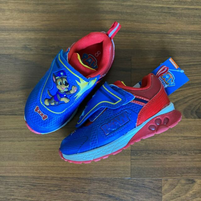 PAW PATROL Light-Up Sneakers Athletic Shoes Toddler/'s Size 7 8 9 10 11 or 12 $38